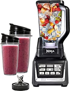 Nutri Ninja Auto IQ Duo Blender BL641 (Renewed)