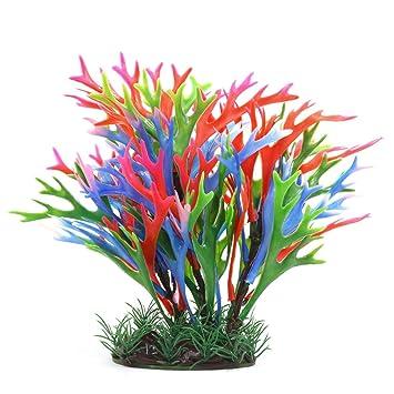 uxcell Acuario Decoración Fish Tank plástico decoración Planta: Amazon.es: Productos para mascotas