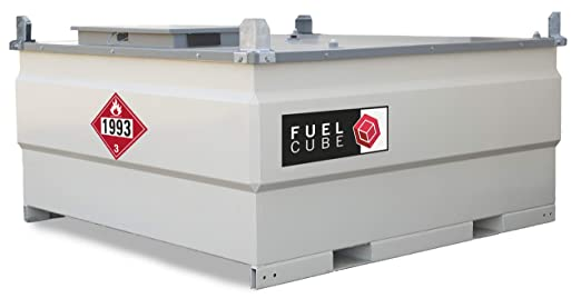 Diesel Fuel Tank 1000 Gallon Ul142 Approved Lockable Equipment Double Walled Fuelcube Amazon Com Industrial Scientific