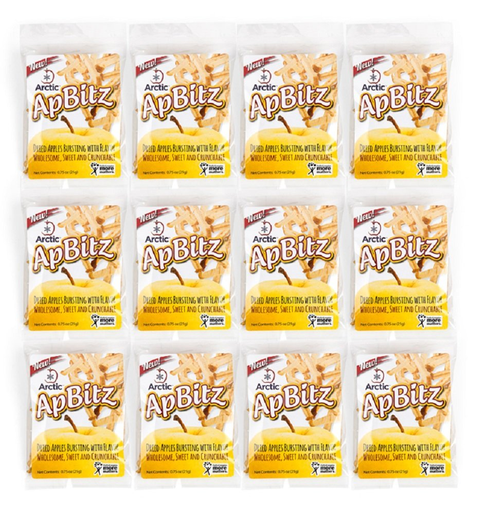 Arctic ApBitz Dried Apple Snacks – 0.75 oz (Pack of 12) – Preservative Free by Arctic® Apples (Image #3)