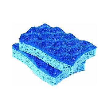 Scrunge scrubber sponge