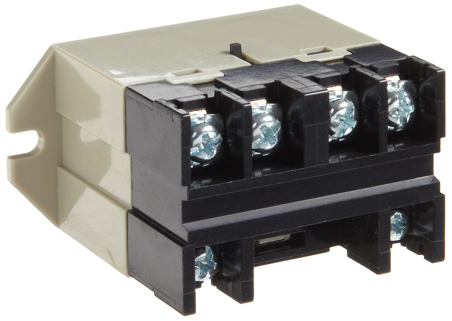 Omron G7L-2A-BUBJ-CB AC24 General Purpose Relay With Test Button, Class B Insulation, Screw Terminal, Upper Bracket Mounting, Double Pole Single Throw Normally Open Contacts, 71 mA Rated Load Current, 24 VAC Rated Load Voltage