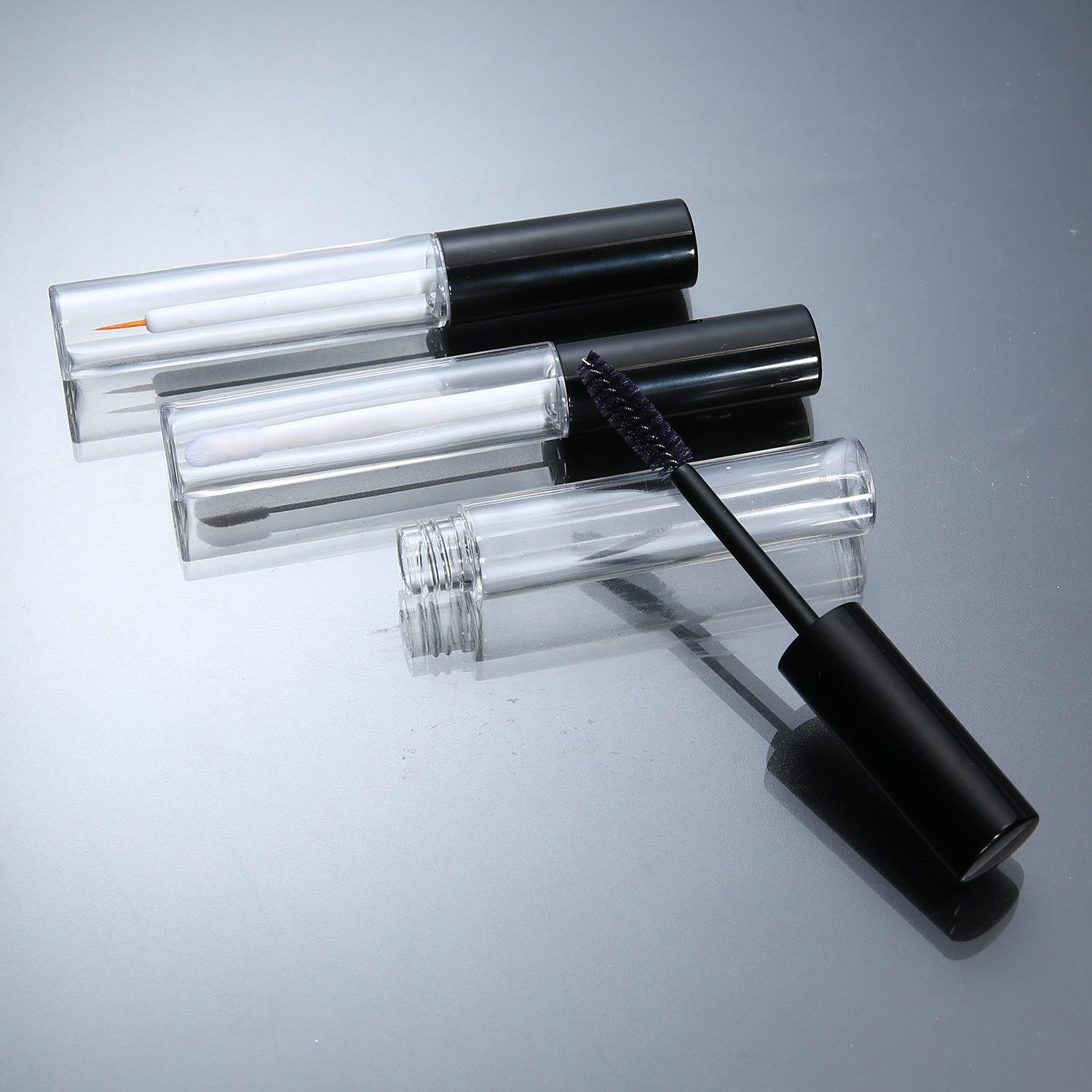 1807a131f0e1 10ml Empty Mascara Tube Eyeliner Bottle Lip Gloss Tubes Vials Containers  with Rubber Inserts and Funnels