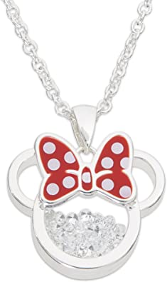 Mickey Mouse Girl Necklace Mickey Mouse Pendant