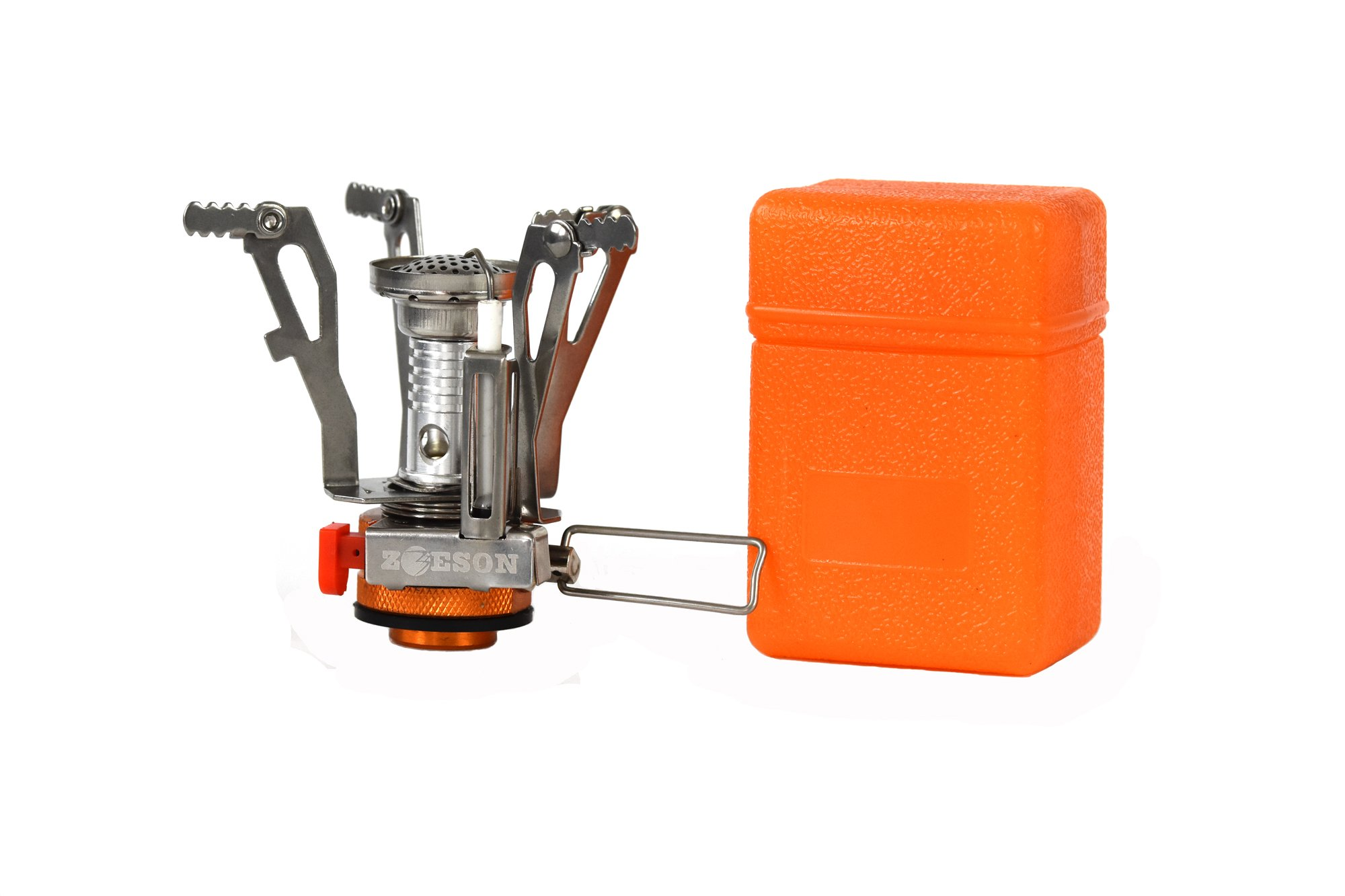 zoeson Outdoors Mini Camping Stove Ultralight Collapsible Stove Backpacking (1 Pack) product image