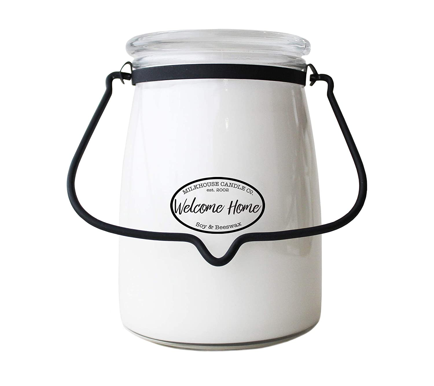 Milkhouse Candle Creamery Scented Soy Candle: Butter Jar Candle, Welcome Home, 22-Ounce