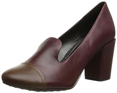 Easy Spirit Women's Pearsal Slip-On Loafer, Red, ...