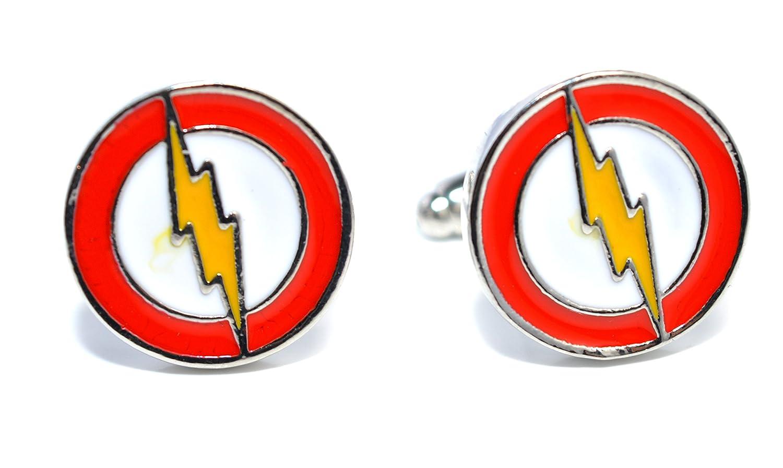 /Le Flash d/éclairage Flash inspir/é Superhero/ /Accessoires pour homme pour hommes Boutons de manchette/