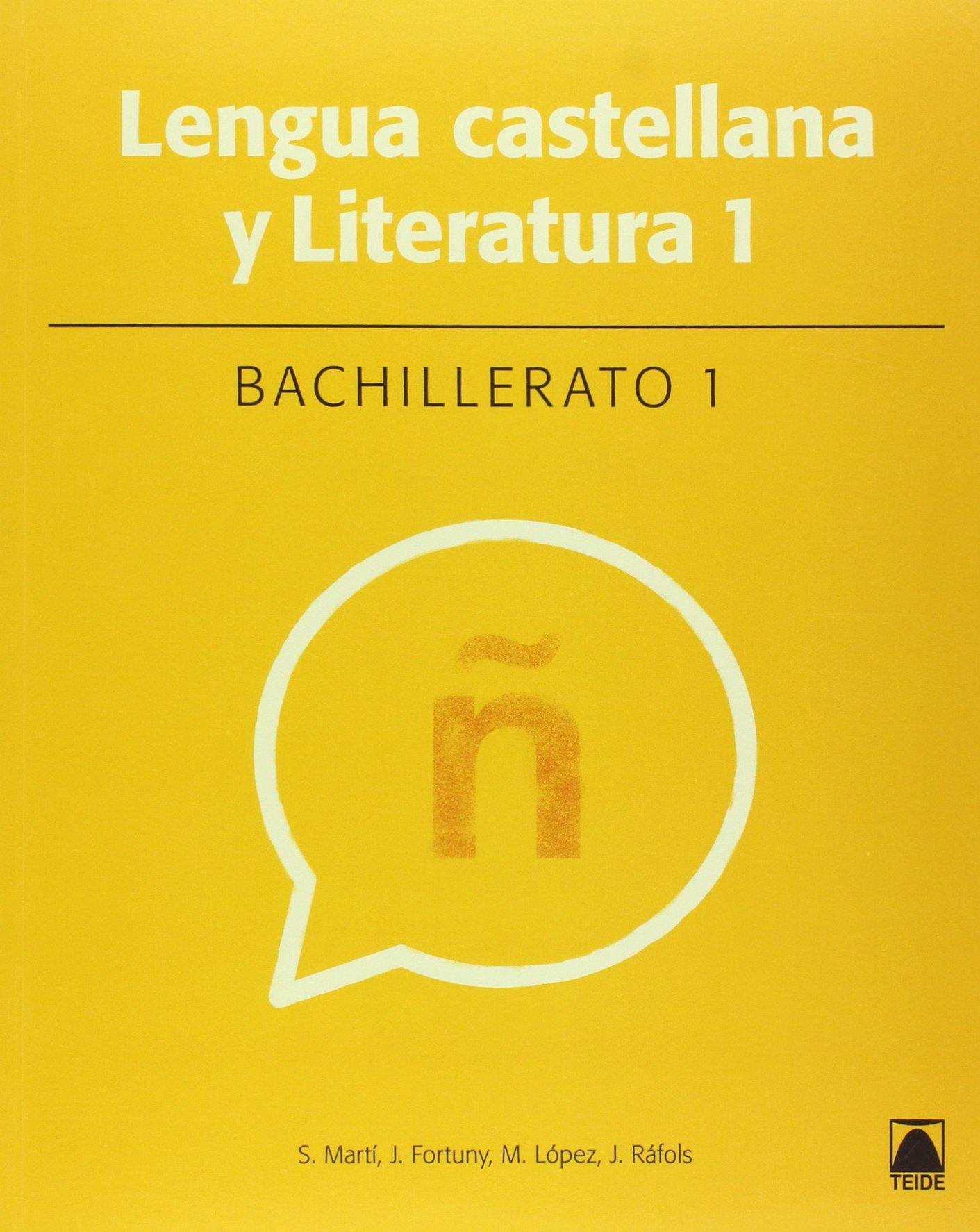 Lengua castellana 1. Bachillerato - 9788430753420: Amazon.es: Fortuny Giné, Joan Baptista, Martí Raüll, Salvador, Ràfols Vives, Joana, López Robles, Marta: Libros