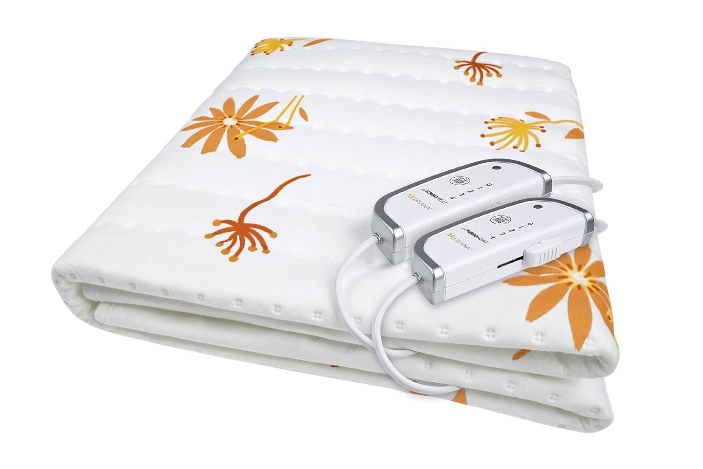 Medisana HU 660 Doppelwärmeunterbett 61200, weiß/orange weiß/orange Medisana AG