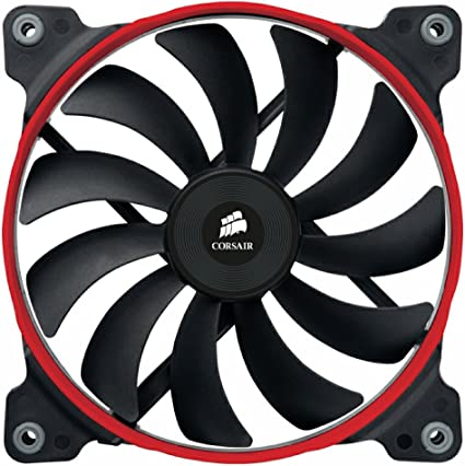 Corsair AF140 Quiet Edition Ventilador de PC (140 mm, Alto Flujo ...
