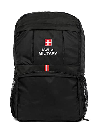 Swiss Military 13.2 Ltrs Black Casual Backpack (BP6)  Amazon.in  Bags 57846261df54e