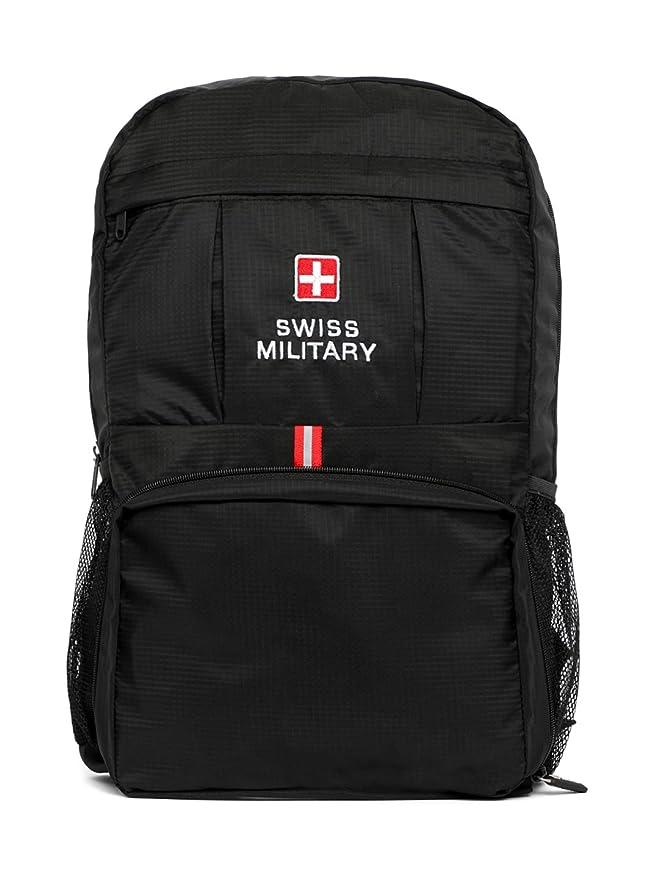 Swiss Military 44 cms Black Casual Backpack  BP6