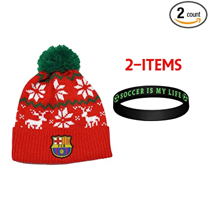 9f74020a528 Image Unavailable. Image not available for. Color  FCB Barcelona FC  Barcelona Beanie ...