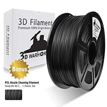 Black 2.2lbs Esun 1.75mm Black Abs 3d Printer Filament 1kg Spool