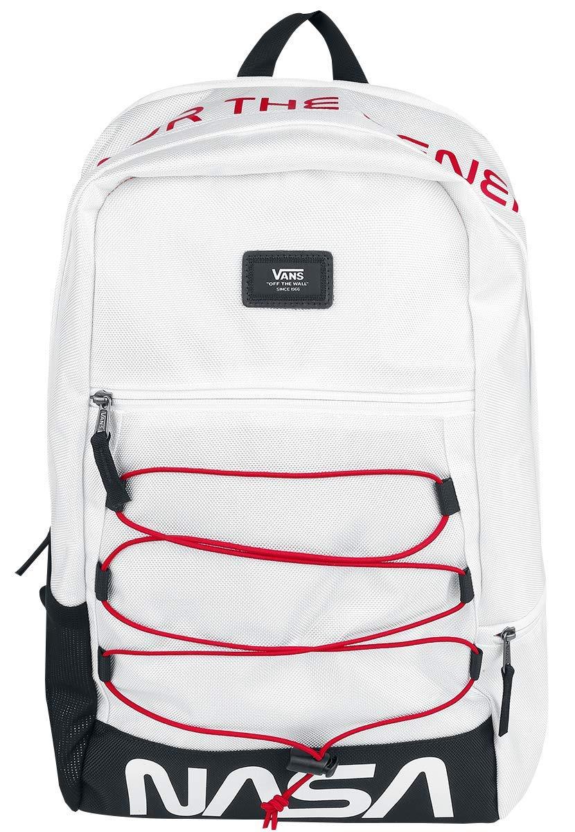 neue Produkte für günstig komplettes Angebot an Artikeln Vans NASA Space Voyager Snag Plus Rucksack weiß: Amazon.de ...