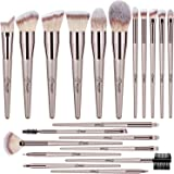 BESTOPE Makeup Brushes 20 PCs Makeup Brush Set Premium Synthetic Contour Concealers Foundation Powder Eye Shadows Makeup Brus