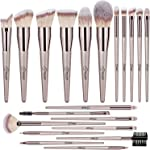 BESTOPE Makeup Brushes 20 PCs Makeup Brush Set Premium Synthetic Contour