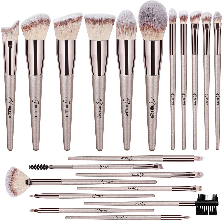 BESTOPE Makeup Brushes 20 PCs