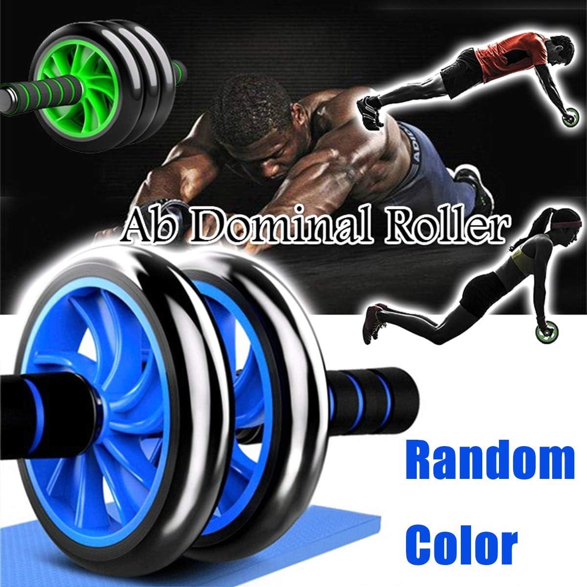 AB Roller Pro Con Barra Kit Con Ruedas Para Abdominales 6 En 1 ABDOMINAL FITNESS
