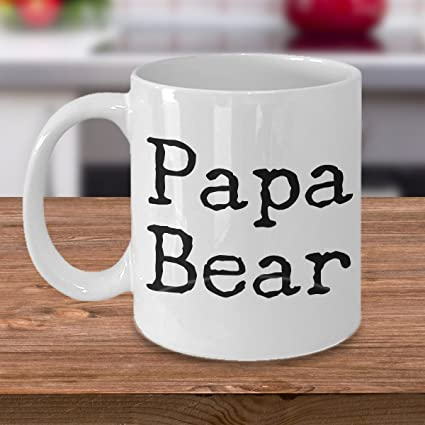 Amazon Papa Bear Mug Fathers Day Gift Ceramic Coffee Cup