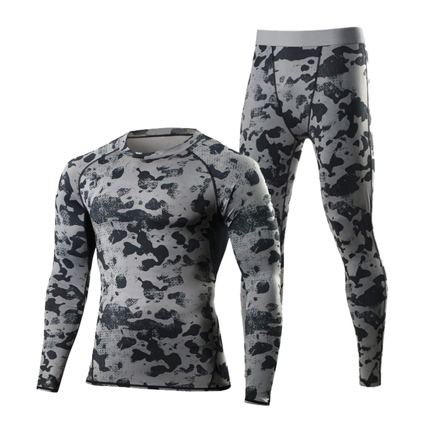 Thermal Underwear Set Men Winter Thermo Underwear Soft Comfortable Stretch Man Warm Long Male Riding Fast-Try Clothe