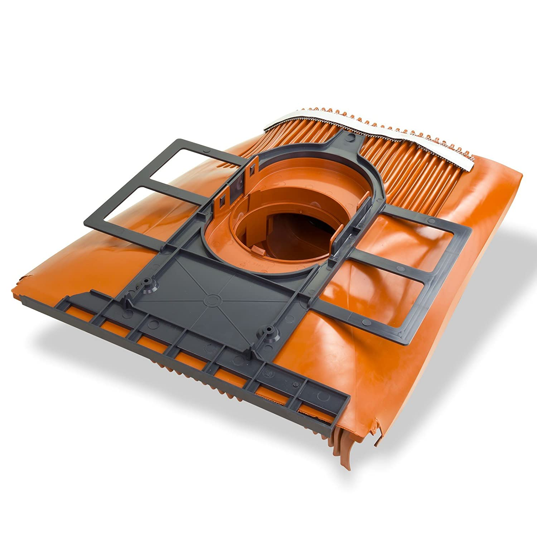 Kl/öber Venduct DUO Solardurchf/ührungs-Set rot Universal Dachdurchf/ührung Solarleitung KE8270-0100