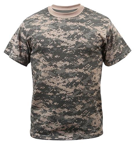 Amazon.com  Rothco T-Shirt ACU Digital Camo  Sports   Outdoors eab79f883e