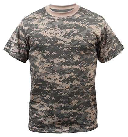Amazon.com  Rothco T-Shirt ACU Digital Camo  Sports   Outdoors 2b8dff6286b
