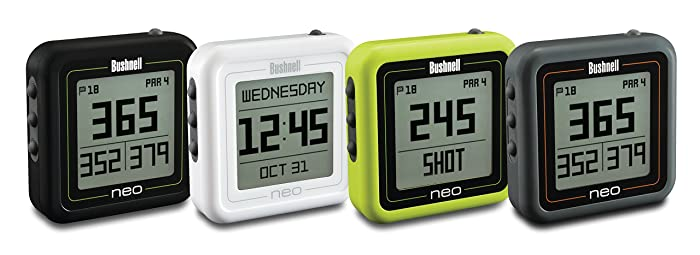 Bushnell Neo Ghost Golf GPS Black & Charcoal