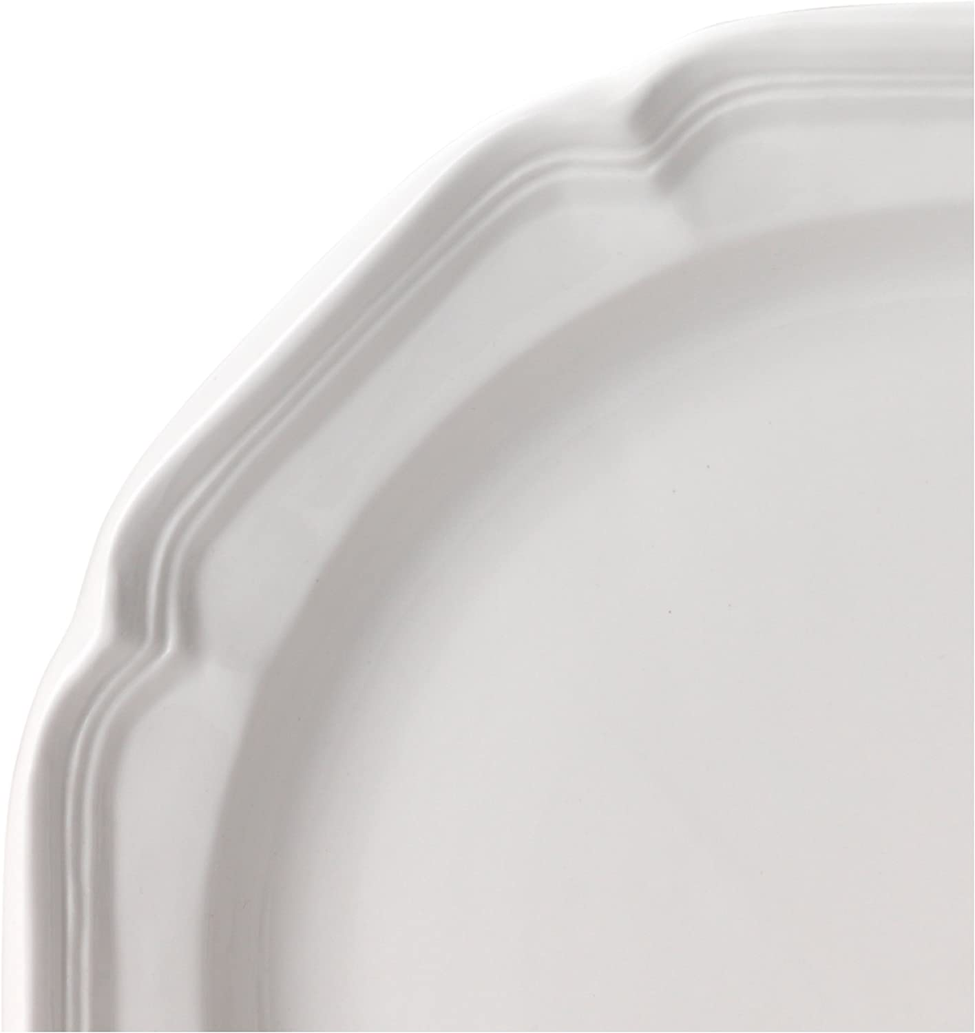   Mikasa French Countryside Dinner Plate, White, 10.75-Inch - F9000-201: Cereal Bowls