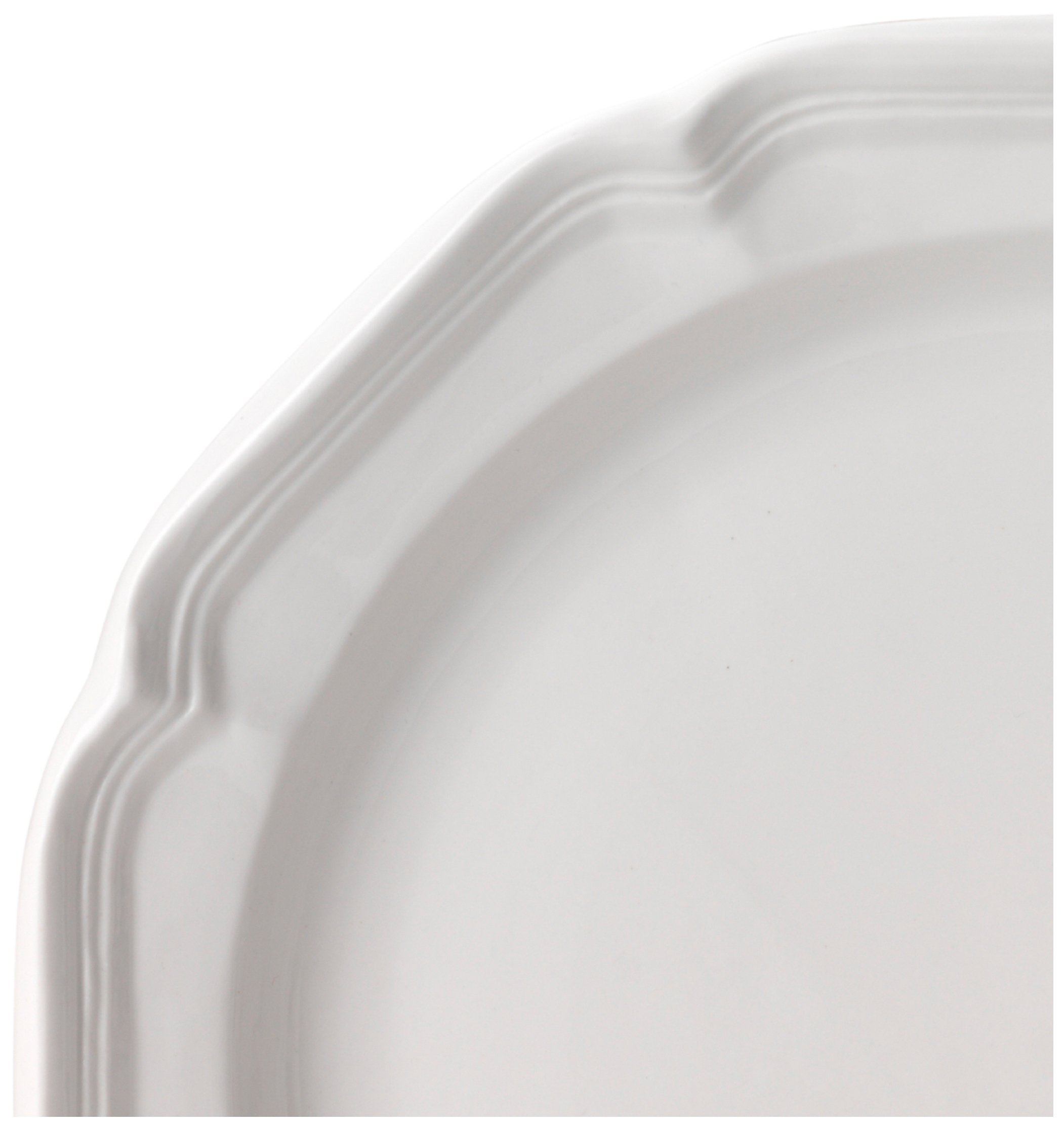 Mikasa French Country Dinner Plate, 10.75'', White by Mikasa (Image #2)