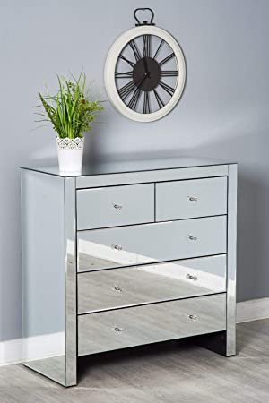 Furnituremaxi Ensemble De Meubles De Chambre A Coucher Miroir Avec