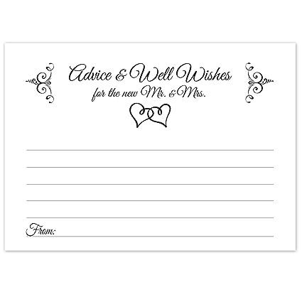 Doble Consejos de bodas, diseño de corazones, - tarjetas Consejos ...