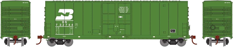 BN Late #732744 ATH1418 Athearn N 50 Smooth HC Plug Door Box