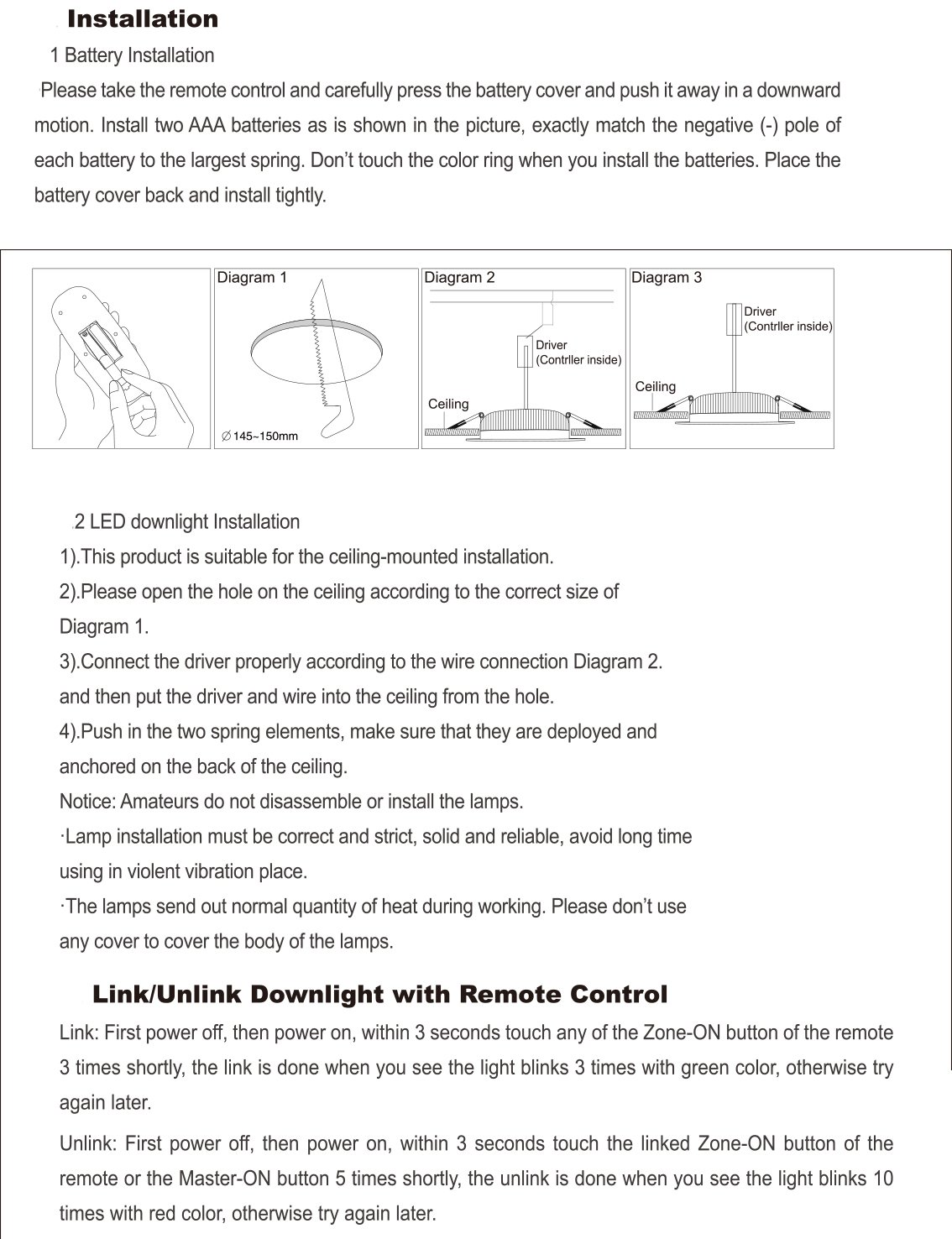 Milight Rgb Cct Led Recessed Ceiling Downlight Ac 85 265v 12w Wiring Diagram View Light Controlled By Remotenot Included Or Smartphone App Control Via Mi Wifi