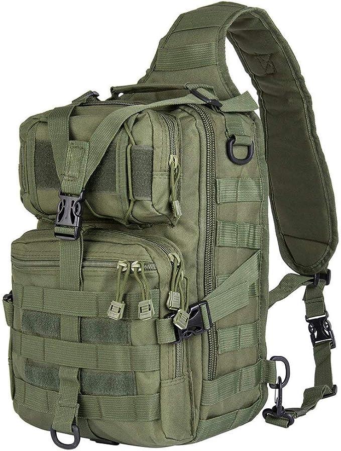 Best Tactical Sling Bag: HAOMUK Military Rover Shoulder Tactical Sling Backpack