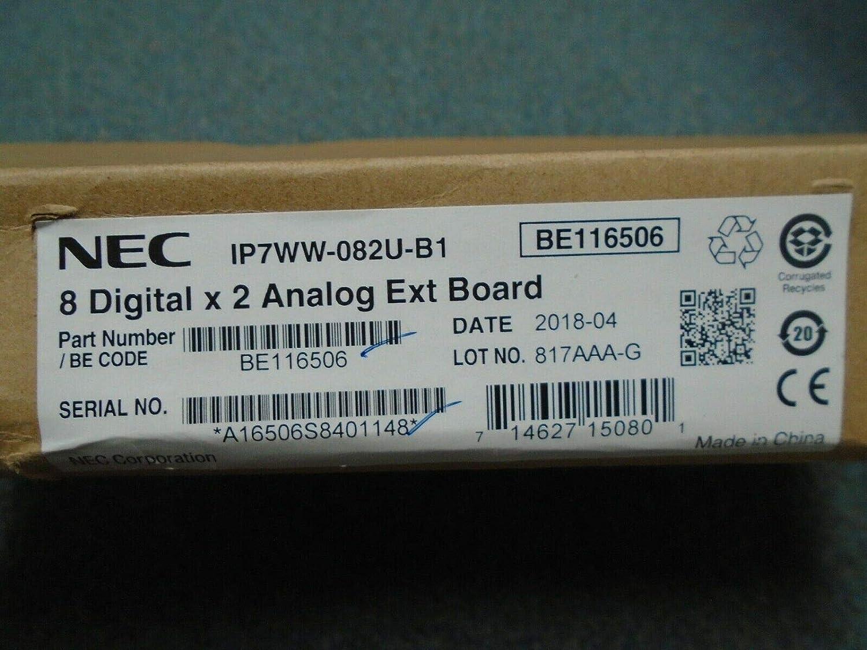 NEC SL2100 IP7WW-082U-B1 BE116506 8 Port Digital x 2 Port Analog Station