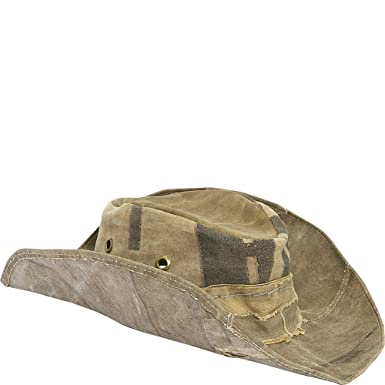 690f5306573 Image Unavailable. Image not available for. Color  Real Deal Brazil The  s  Tan Recyceled Cotton Cavans Original Hat S