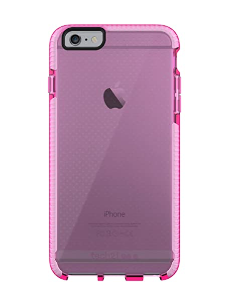 on sale ca314 44f68 Tech21 Evo Mesh Case for iPhone 6+/6s+ Pink/White