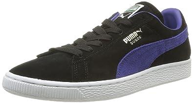 uk availability 40fa8 5d556 Puma Suede Classic +, Sneakers basses mixte adulte - Noir (Black Spectrum  Blue