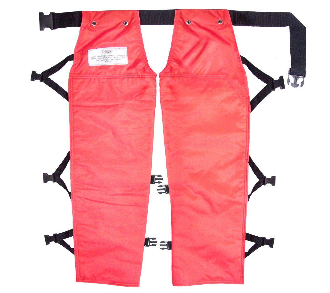 Custom Leathercraft AP212K Work Gear Chain Saw Chaps Fits Waists Upto 40-Inch by Custom Leathercraft  B00HX325KA