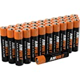 28 Pack AmVolt AAA Batteries [Ultra Power] Premium LR3 Alkaline Battery 1.5 Volt Non Rechargeable Batteries for Watches Clocks Remotes Games Controllers Toys & Electronic Devices
