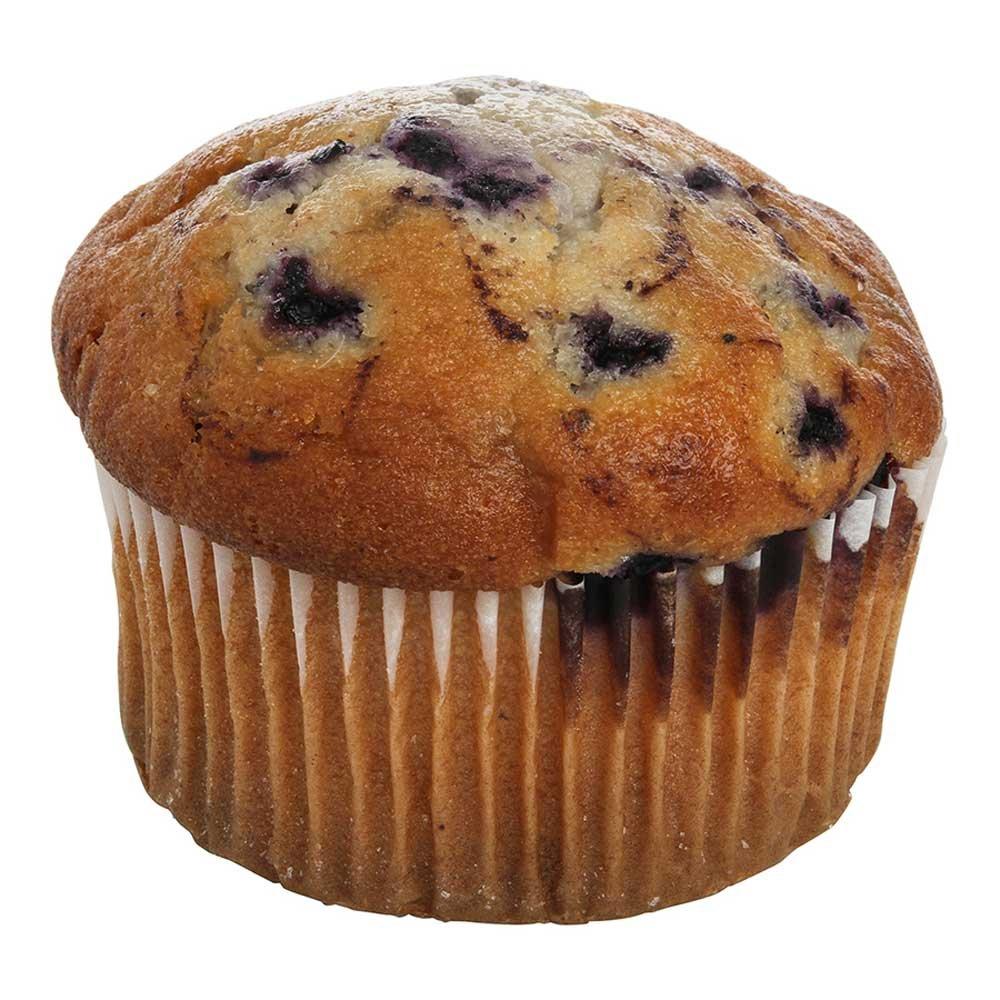 Otis Spunkmeyer Delicious Essentials Wild Blueberry Muffin, 4 Ounce - 24 per case.