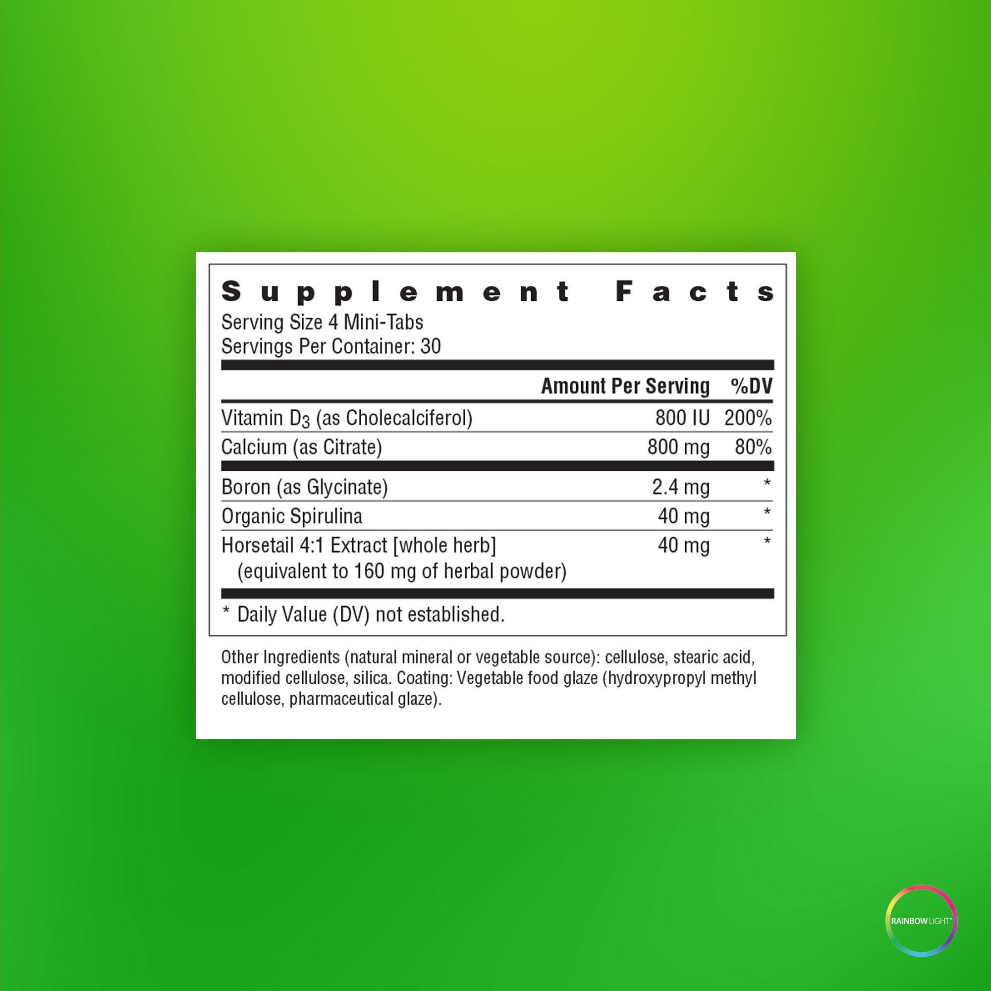 Rainbow Light - Calcium Citrate Mini-Tabs