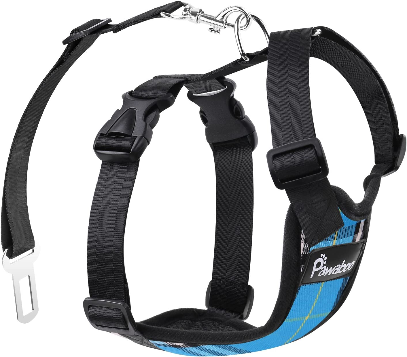 Pawaboo Safety Vest Dog Harness Image
