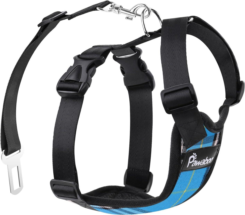 Pawaboo Safety Vest Dog Harness Image