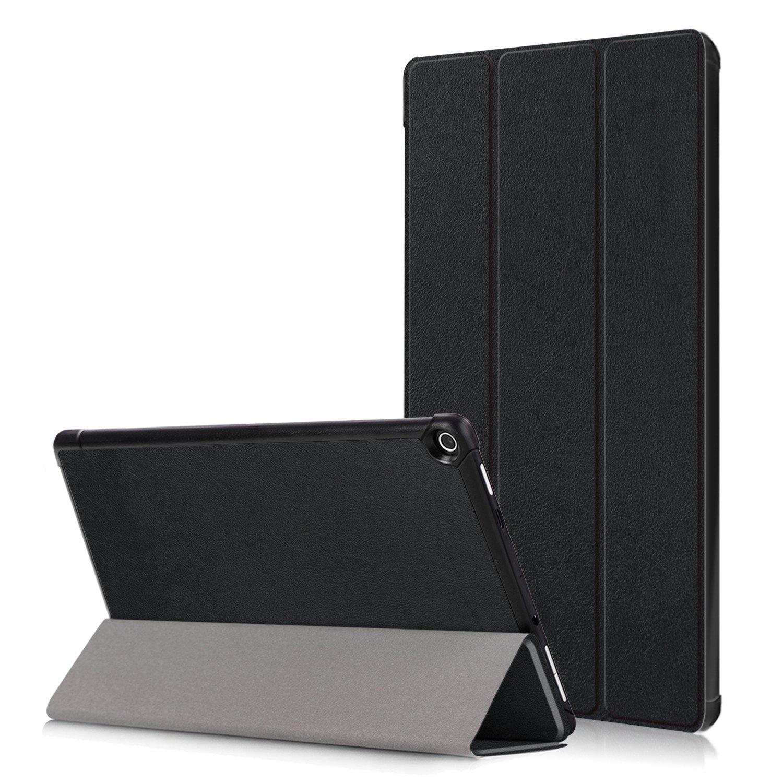 超格安一点 AKNICI Amazon Fire HD 10タブレット用ケース AKNICI (第7世代 Case 2017年発売) ブラック - Fire HD 10.1インチタブレット用自動ウェイク/スリープ機能付きスリム折りたたみスタンドカバー Fire HD10 2017 Case ブラック B07L7MRLPK, 竹屋釣具店:d1ec9164 --- a0267596.xsph.ru
