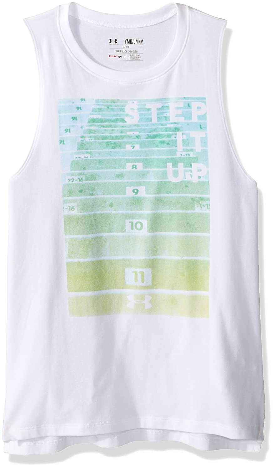 Under Armour Girls Step It Up Muscle Tank Under Armour Apparel 1289846