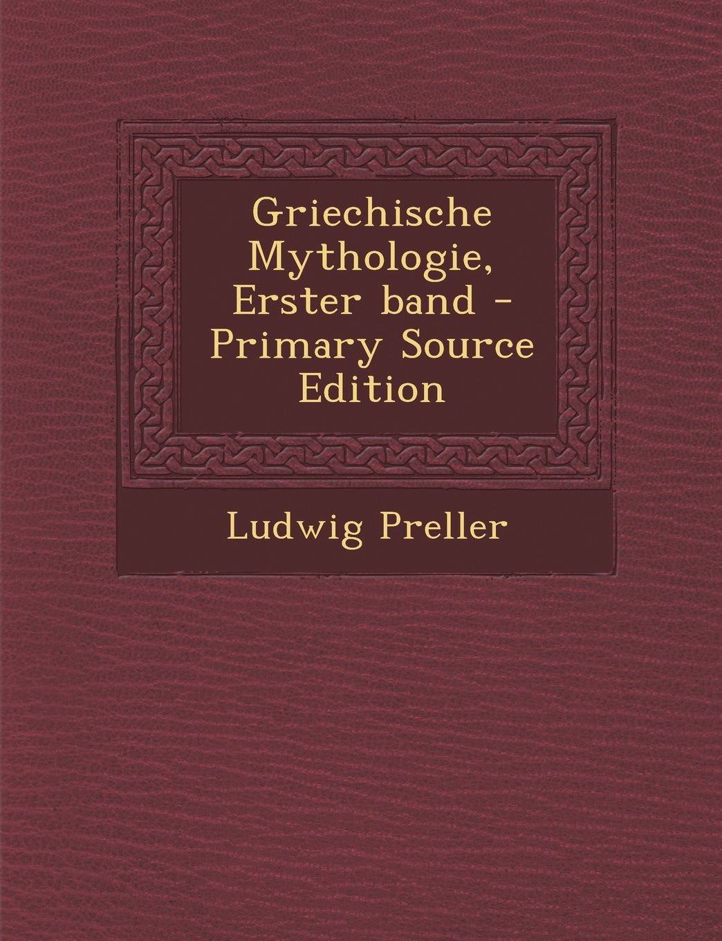 Download Griechische Mythologie, Erster band (German Edition) pdf